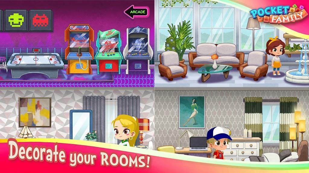 Pocket Family Dreams: Build My Virtual Home  poster 6