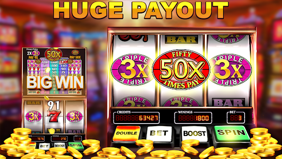 Slot Machine: Free Triple Fifty Times Pay 1.8 screenshots 2