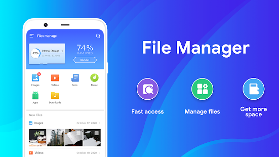 """File Manager 2020- File Master, Clean Up Space for PC / Windows 7, 8, 10 /  MAC Free Download """"Guide"""""""