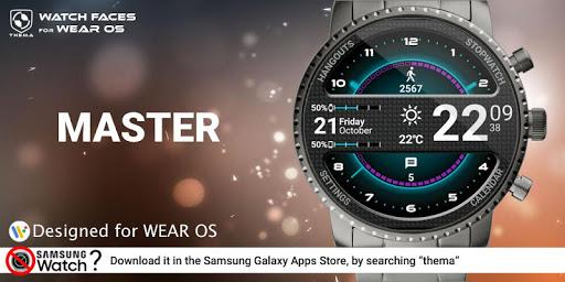 Master Watch Face & Clock Widget  screenshots 1
