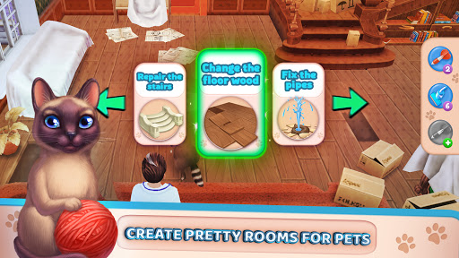 Pet Clinic - Free Puzzle Game With Cute Pets 1.0.2.70 screenshots 2