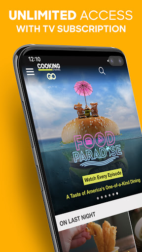Foto do Cooking Channel GO - Stream Live TV