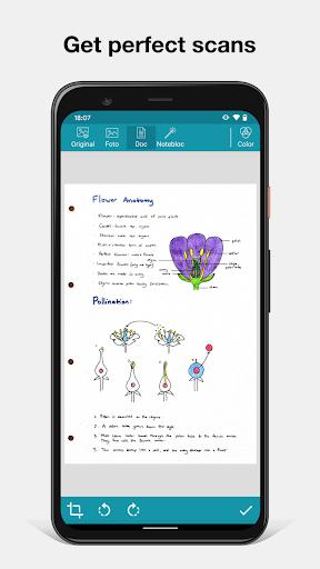 Notebloc: Scanner App - Scan, save & share as PDF 4.1.3 Screenshots 3