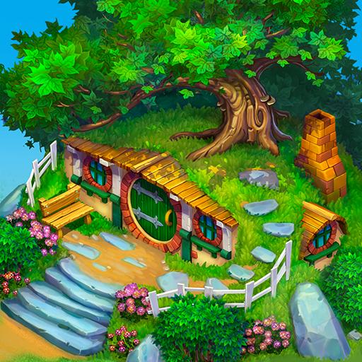 Baixar Farmdale: farming games & township with villagers para Android