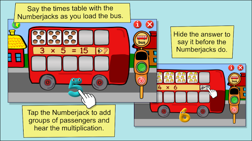 Times Tables - Numberjacks For PC Windows (7, 8, 10, 10X) & Mac Computer Image Number- 14