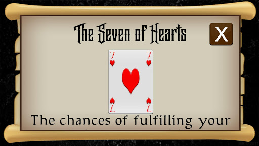 Fortune Telling on Playing Cards  screenshots 10