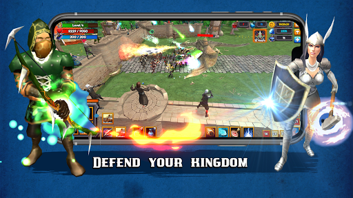 Grow Kingdom: Tower Defense Strategy & RPG Game 1.0 screenshots 2