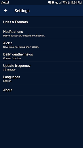 Weather - Weather Real-time Forecast 1.3 Screenshots 6