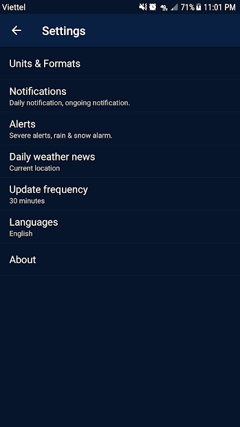 Imágen 7 de Weather - Weather Real-time Forecast para android