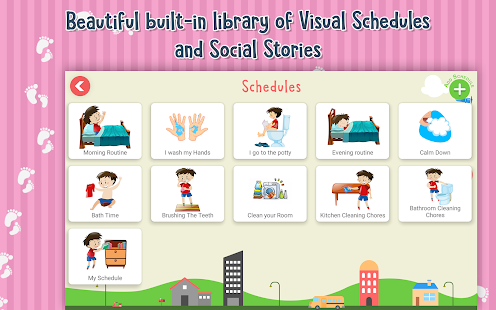 Visual Schedules and Social Stories Screenshot