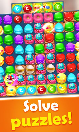 Sweet Candy Mania - Free Match 3 Puzzle Game 1.5.0 screenshots 2