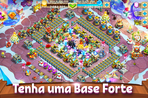 Castle Clash: Batalha de Guildas Latest screenshots 1