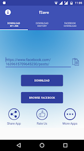 Video Downloader for Facebook - fSave Screenshot