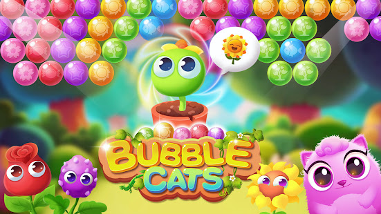 Bubble Cats - Bubble Shooter Pop Bubble Games