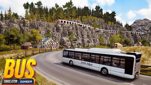 Bus Simulator : Dangerous Road screenshot 1