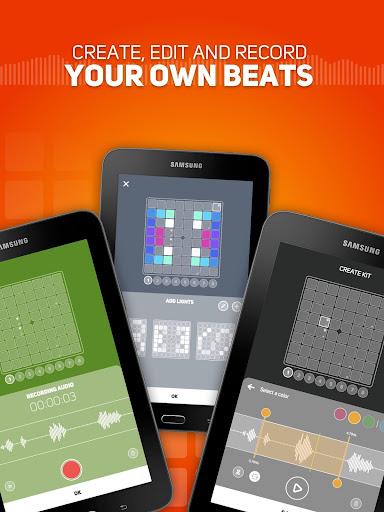 SUPER PADS LIGHTS - Your DJ app  Screenshots 7