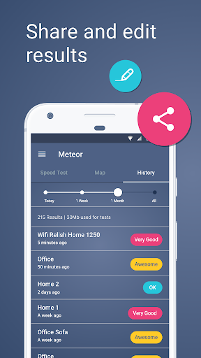 Meteor: Speed Test for 3G, 4G, 5G Internet & WiFi 1.28.1-1 screenshots 5