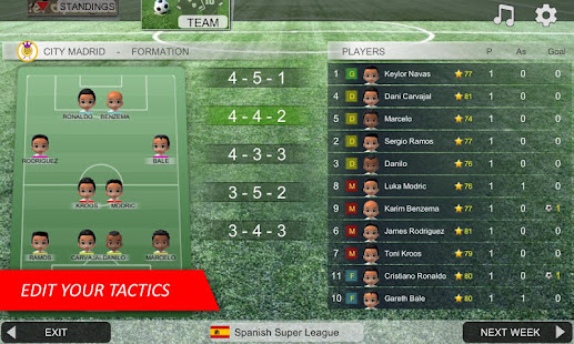 Mobile Soccer League 1.0.27 Screenshots 4