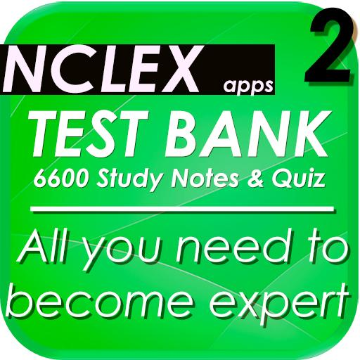 NCLEX Nursing 6600 Note & quiz For PC Windows (7, 8, 10 and 10x) & Mac Computer