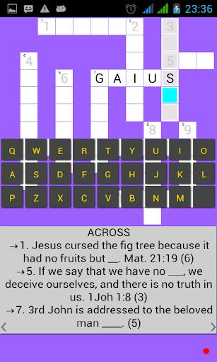 Bible Crossword 5.6 screenshots 5