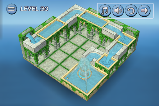 Flow Water Fountain 3D Puzzle 1.2 Screenshots 3