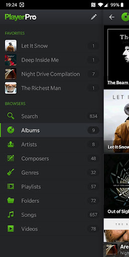 PlayerPro Music Player (Free) 5.21 Screenshots 5