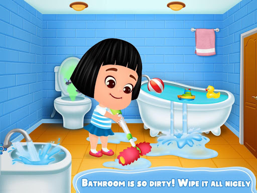 Home and Garden Cleaning Game - Fix and Repair It apktram screenshots 2