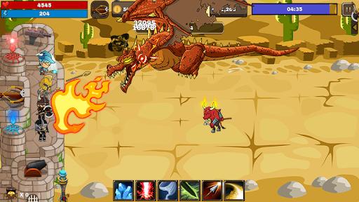 Final Castle Defence : Idle RPG apkslow screenshots 6