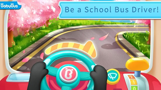 Baby Panda's School Bus - Let's Drive! Screenshot