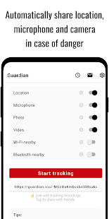 Guardian (Safety Tracker)