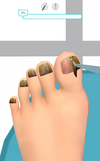Foot Clinic - ASMR Feet Care 1.4.1 screenshots 3