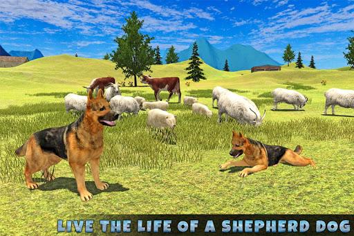 Real Dog Shephard World SIM 1.1 screenshots 8