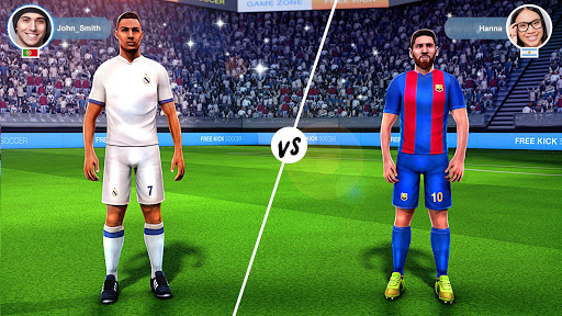 Télécharger gratuit FreeKick PvP Football APK MOD 1