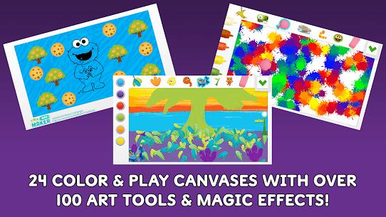 Free Sesame Street Art Maker 2