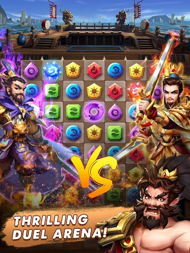 Three Kingdoms & Puzzles: Match 3 RPG screenshots 13