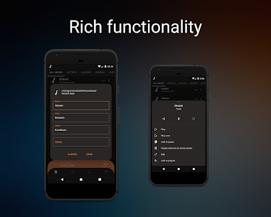 Frolomuse MP3 Player MOD APK (Premium /Paid Unlocked) Download 4