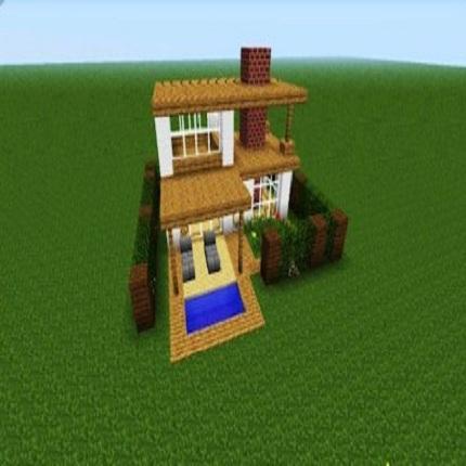 make a minicraft house 8.8 Screenshots 5