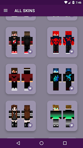 PvP Skins for Minecraft PE android2mod screenshots 5