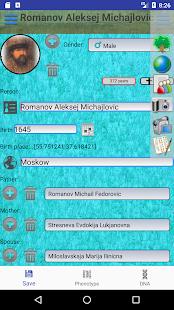 Genealogical trees of families screenshots 4