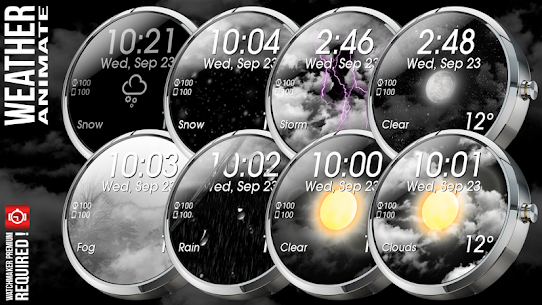 Weather Animate for Watchmaker On Pc | How To Download (Windows 7, 8, 10 And Mac) 4