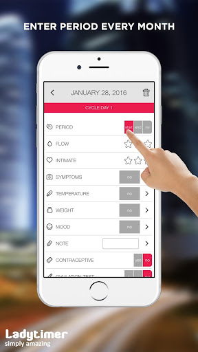 Ladytimer Ovulation & Period Calendar android2mod screenshots 1