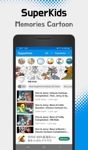 SuperKids - videos & cartoons, songs for your kids  Screenshots 5