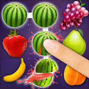 Fruit Puzzle King: Line Art Link Kids Free Game