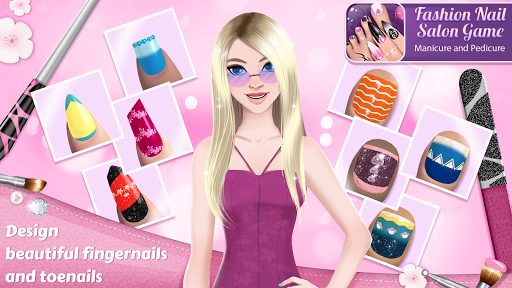 Fashion Nail Salon Game: Manicure and Pedicure App  Screenshots 1