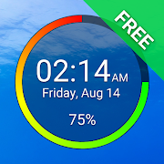 Battery Clock Free