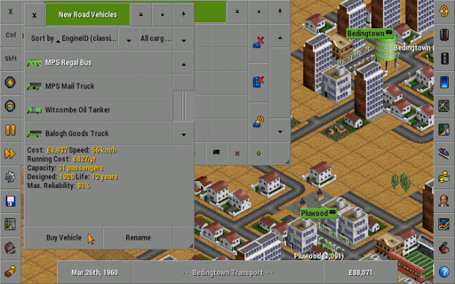 OpenTTD 1.11.0.rev101 screenshots 2