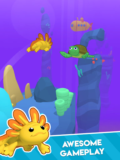 Axolotl Rush apkdebit screenshots 10