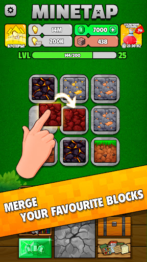 Minetap: Epic Clicker! Tap Crafting & mine heroes 1.5.5 screenshots 7