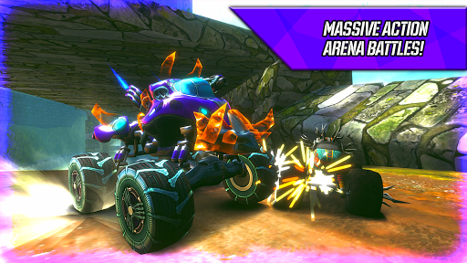 RACE: Rocket Arena Car Extreme apklade screenshots 2