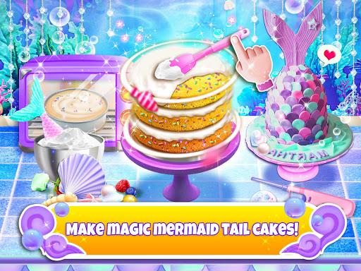 Unicorn Chef: Mermaid Cooking Games for Girls 2.2 screenshots 2
